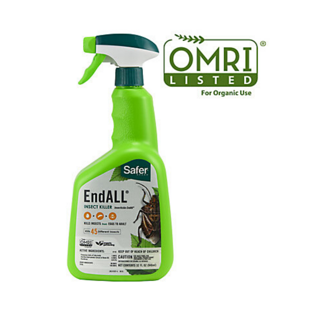 Safer Endall 32oz Rtu - insecticide, miticide, nematicide and fungicide