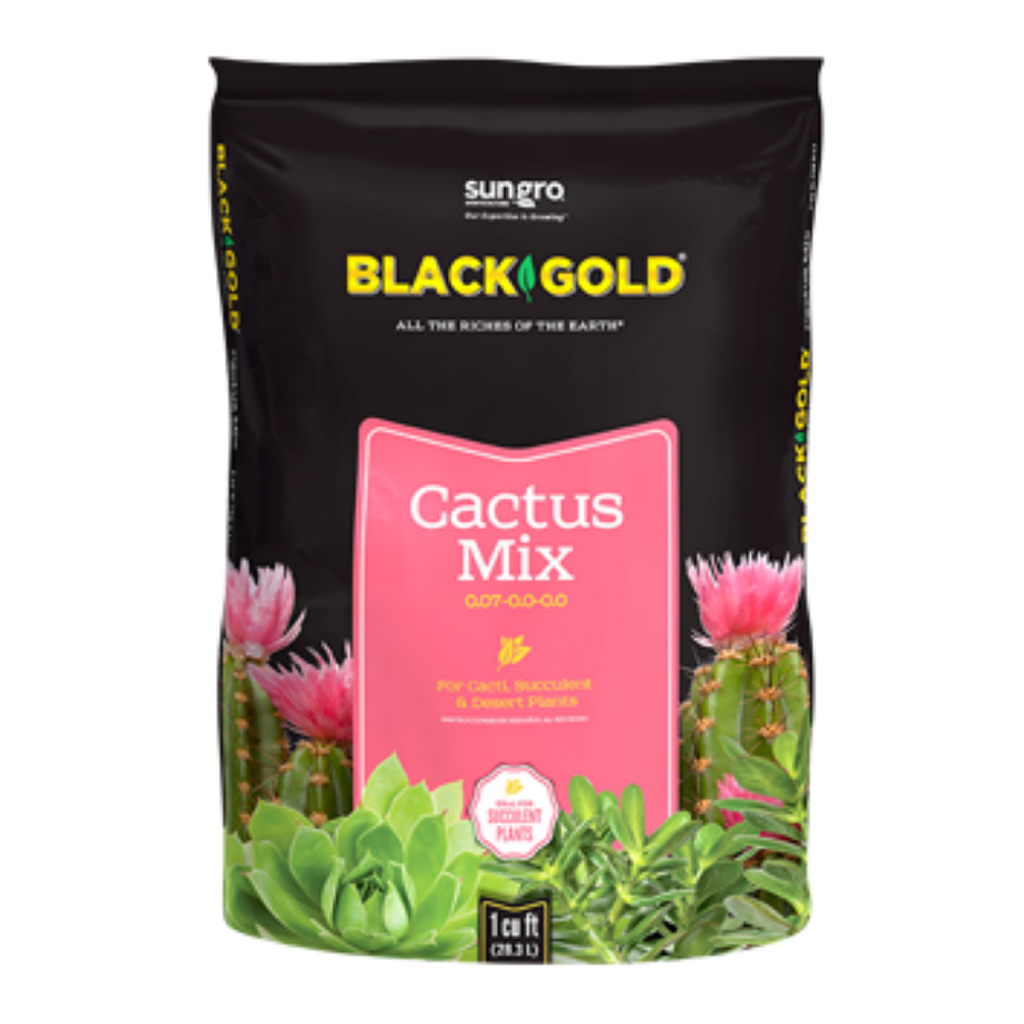Black Gold Cactus Soil