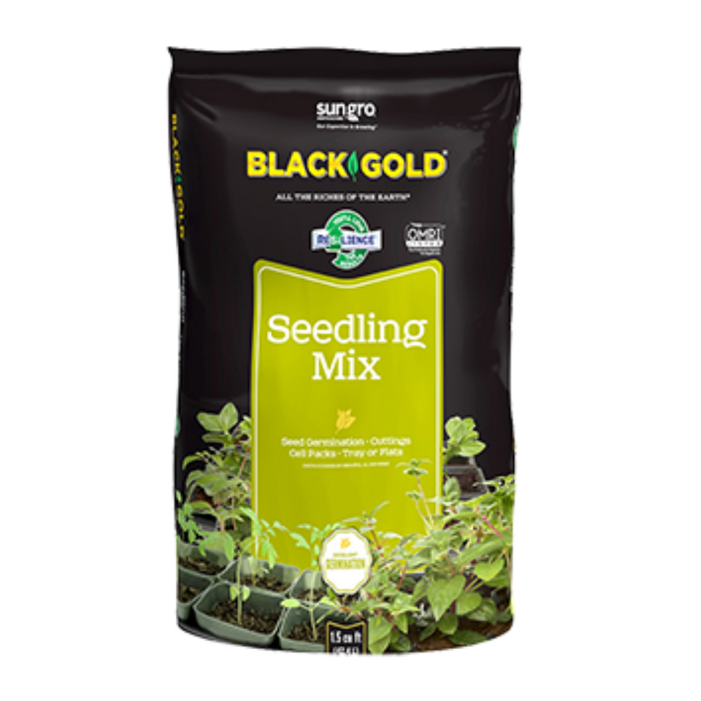 Black Gold Organic Seedling Soil