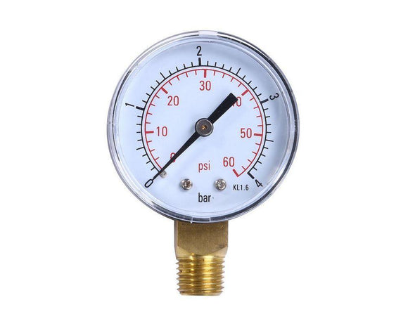 Pressure gauge for EB filters