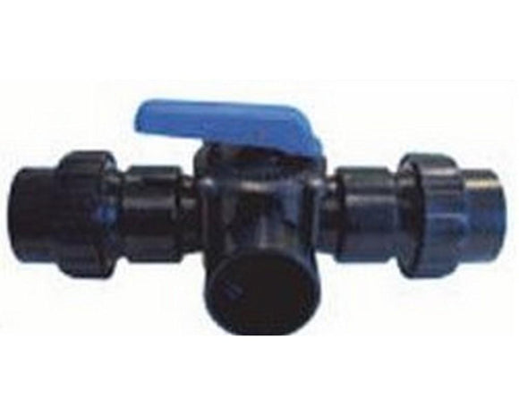 Split union adapters (for X-Clear Valve) to 2