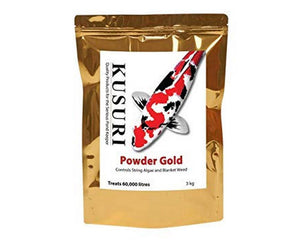 Kusuri Powder GOLD 3kg (Treats 13000gallons)