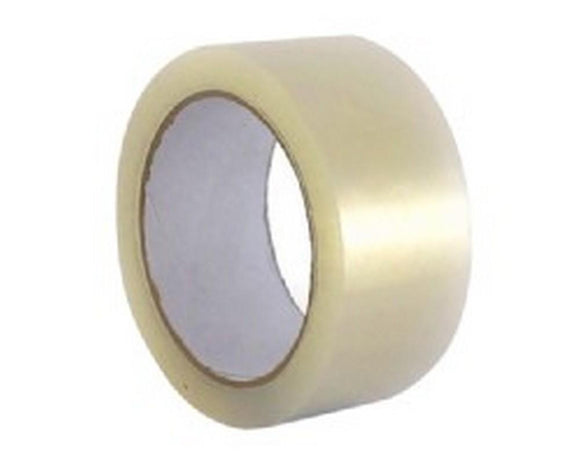 Clear Packaging Tape (Approx 60m per roll)