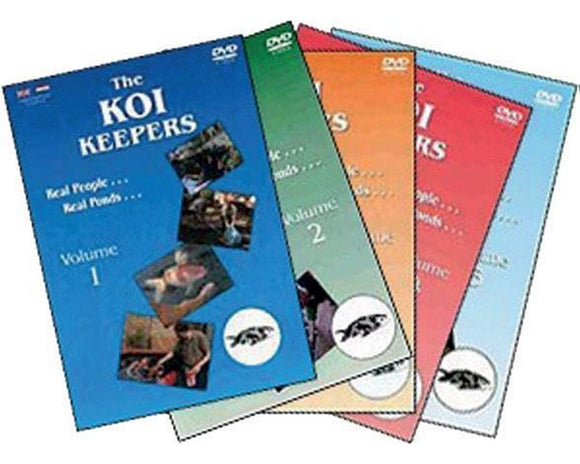 The Koi Keepers DVDs  No3