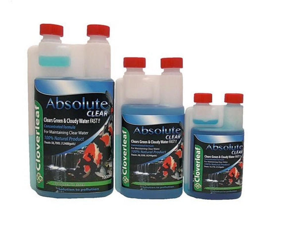 Cloverleaf ABSOLUTE Clear (Flocculant) 1ltr