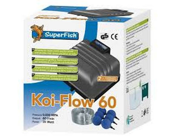 Superfish Koi-Flow 60 set - Selective Koi Sales