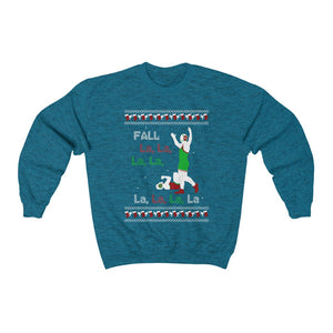 Fall La La.. Wrestling Christmas Sweater