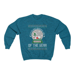 The Most Wonderful Time of the year wrestling Christmas Sweater