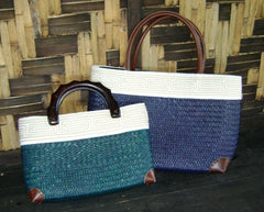 Thai Totes - Large Leather Handle