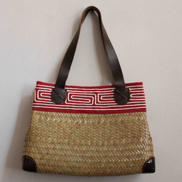 Thai Tote- Leather Strap