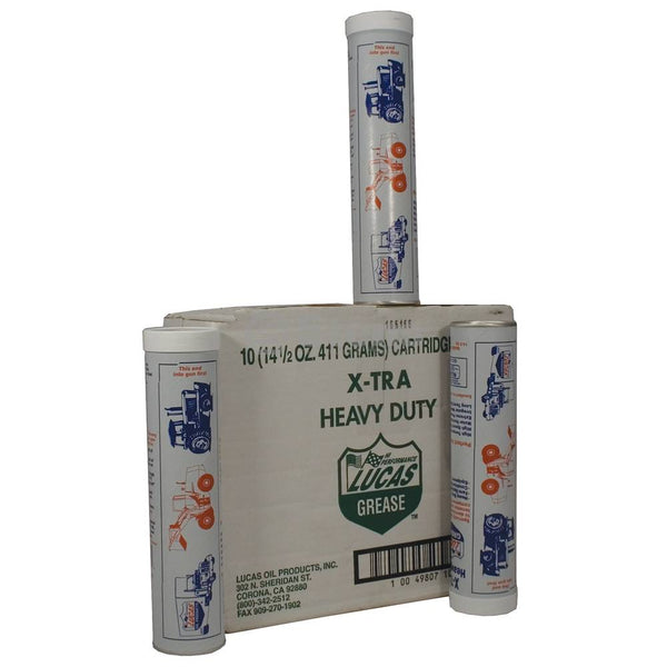 X-tra HD Grease Case Of Ten 14.5 oz. Tubes (Stens 051-535)