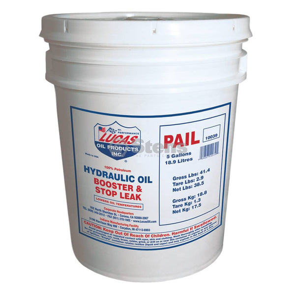Hydraulic Oil Booster and Stop Leak 5 Gal (Stens 051-655)