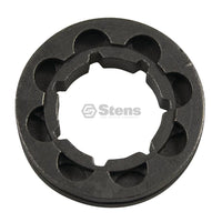 "Chainsaw Rim Sprocket 3/8"" Pitch 8 Tooth Std 7 Spline (Stens 085-0057)"