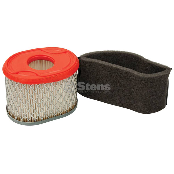 Air Filter Combo Briggs & Stratton 796970 (Stens 102-499)
