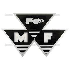 "New Massey Ferguson MF Tractor Triple Triangle 6"" Decal Sticker 79024561V (2089)"
