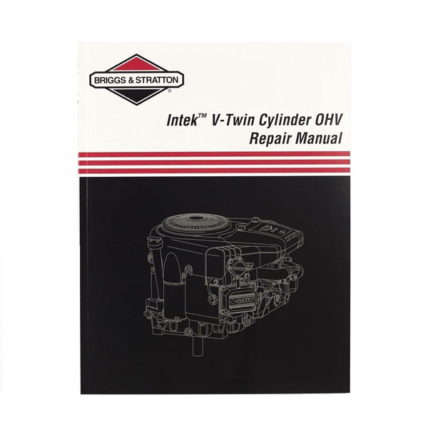OEM Briggs & Stratton Intek V-Twin Cylinder OHV Repair Service Manual (273521)
