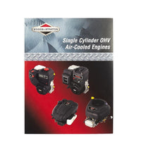 Genuine OEM Briggs & Stratton Single Cylinder OHV Air-Cooled Engine Repair Service Manual (276781)