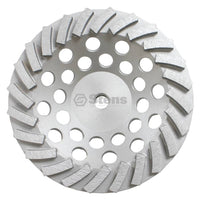 "Turbo Cup Wheel 7"" Turbo Cup Wheel 24 Segments (Stens 309-502)"