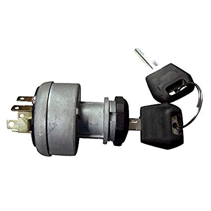 Ignition Switch with 2 Keys for Case Replaces 282775A1, D134737, A77312, L61053 (1700-0940)