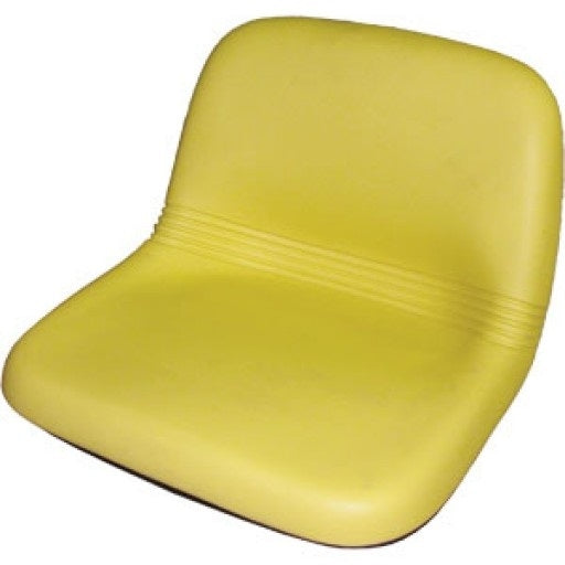 High Back Yellow Seat for John Deere Riding Mowers (AM115813)