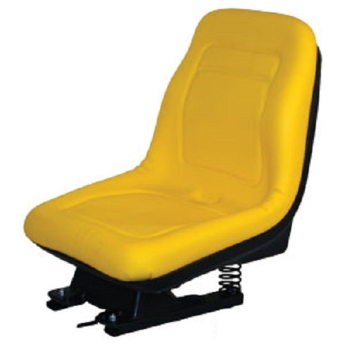 New AM124294 Seat w/Slide Track Suspension For John Deere Riding Mower F710 F725 (AM124294)