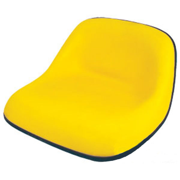 LM2002 Yellow Lawn & Garden Tractor Riding Mower Seat Fits Most Brands (SE110Y)