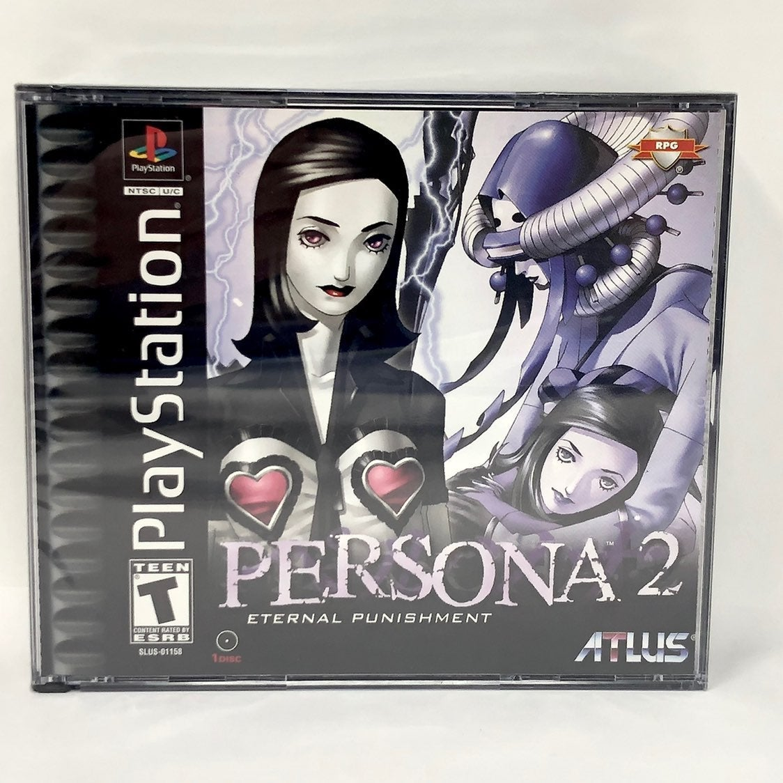 Persona 2: Eternal Punishment (Sony Playstation PSX) BRAND NEW - RARE!