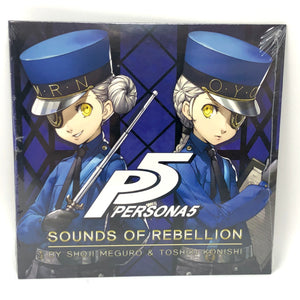 Persona Soundtrack DOUBLE SET - Sounds of Rebellion & Persona 5 ROYAL - 29 Tracks!