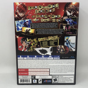 Persona 5 Royal COLLECTOR BOX ONLY - No Game or Other Accessories Included