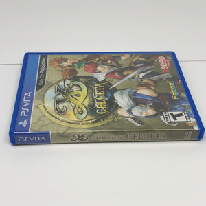 Y's Memories of Celceta (Sony PS Vita) Ys Custom Replacement CASE ONLY - No Game