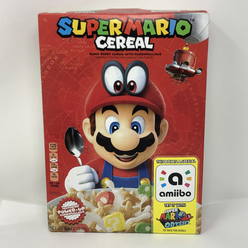 Kellogg's Super Mario Cereal (2018 Mario Odyssey Edition - Collectible First Run)