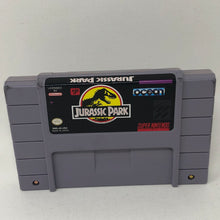 Jurassic Park (Super Nintendo / SNES) GAME CARTRIDGE ONLY - Good Condition - Works Great!