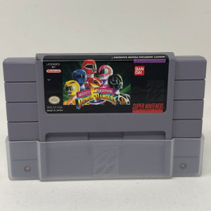 Power Rangers (Super Nintendo / SNES) Game Cartridge Only - Good Condition - Works Great!