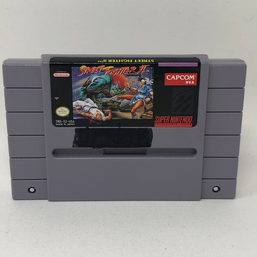 Street Fighter II (Super Nintendo / SNES) Game Cartridge Only - Good Condition - Works Great!