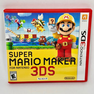 Super Mario Maker (Nintendo 3DS/2DS/new3DS/XL) Case + Game!