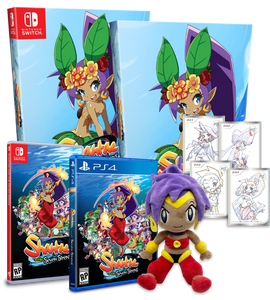 Shantae and the Seven Sirens Mega Bundle (Limited Run PS4 + Switch) BRAND NEW