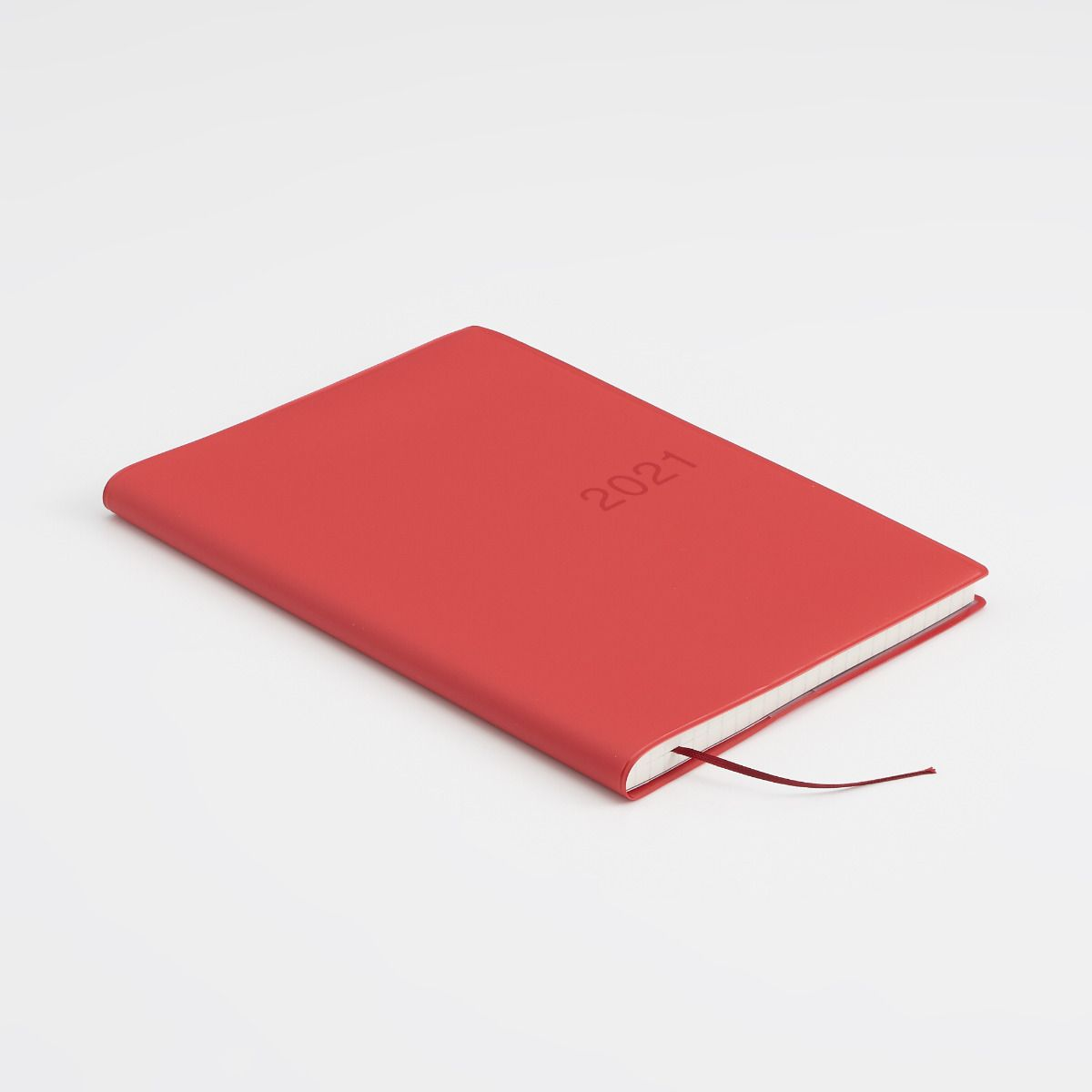 MUJI 2021 Monthly Weekly Yearly Planner RED B6 - USA Seller