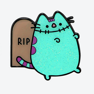 Pusheen Zombie with Grave Collectible Enamel Pin - Halloween 2020 (NEW)
