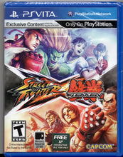 Street Fighter X Tekken (Sony PS Vita) BRAND NEW