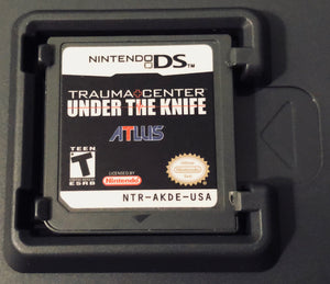 Trauma Center: Under the Knife (Nintendo DS/DSi/Lite/3DS/XL/2DS/new3DS) GAME ONLY