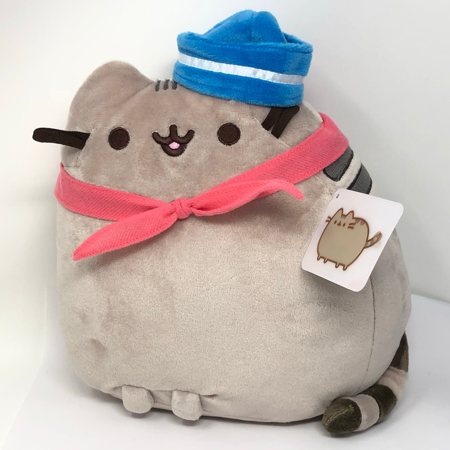 PUSHEEN Sailor Plush with Scarf (9