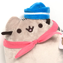"PUSHEEN Sailor Plush with Scarf (9"" GUND Plushie) NEW Hot Topic Exclusive NWT"