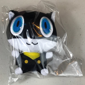 "PERSONA 5 Plushie: MORGANA CAT 4"" Collectible PLUSH (Take Your Heart) NEW!"