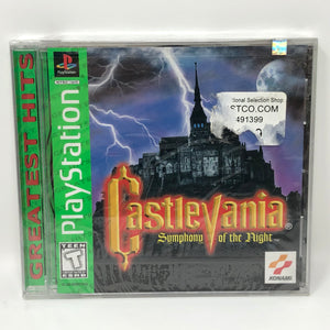 Castlevania Symphony Of the Night (Sony PlayStation, PSX, GH) BRAND NEW / SEALED - RARE