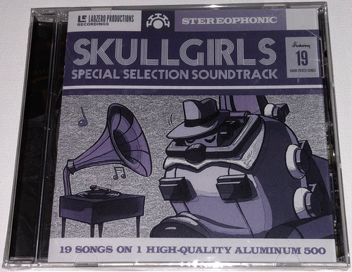Skull Girls Special Selection Soundtrack (NEW) 19 Songs! LIMITED RUN - AUDIO CD!