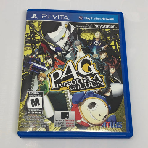 Persona 4 Golden (Sony PS Vita) CASE ONLY - NO GAME!