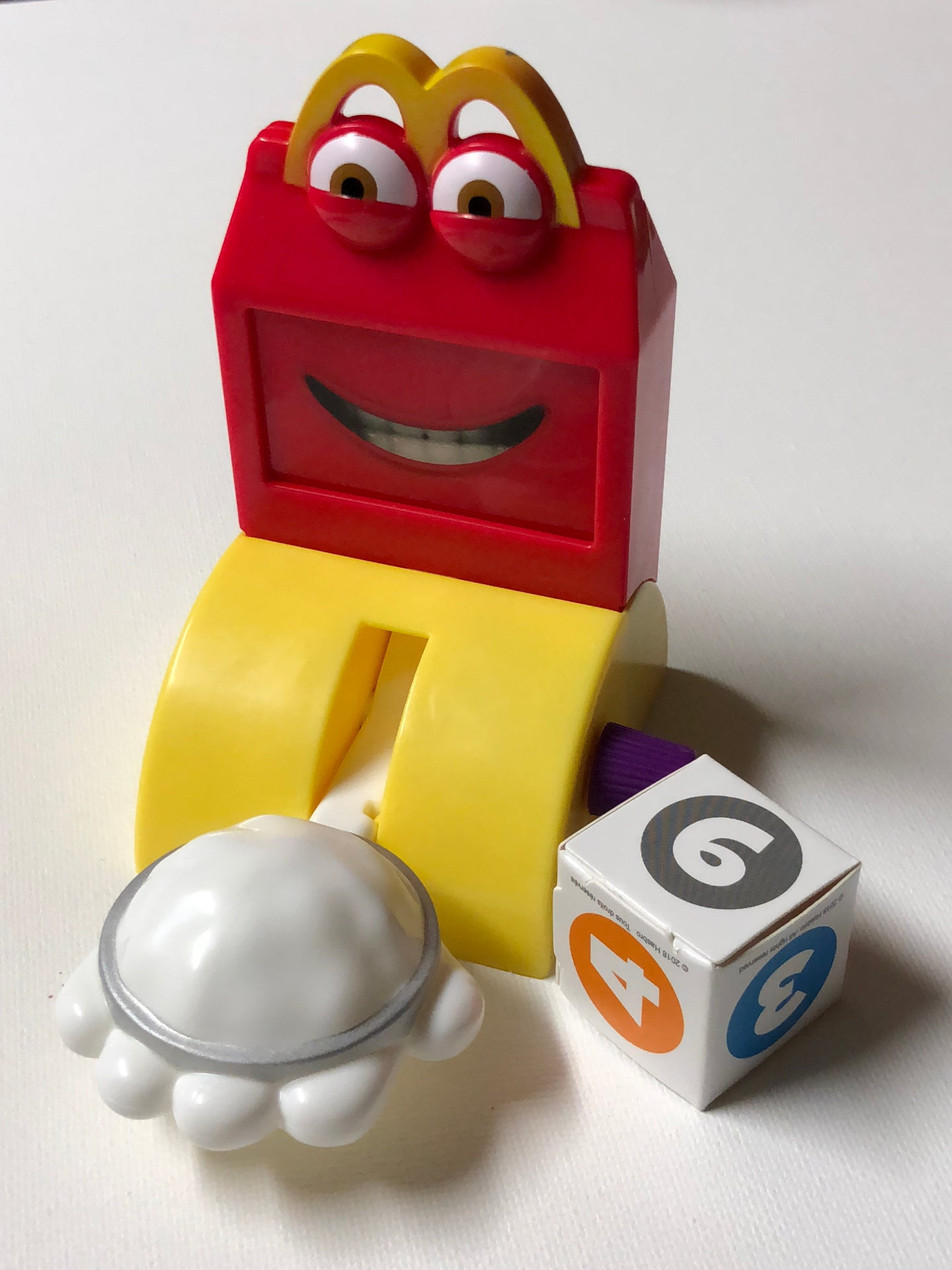 "Hasbro Gaming: ""Pie Face"" McDonald's Happy Meal Toy (May, 2018) NEW"