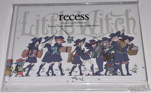Little Witch Academia - recess - Art Book - Limited Edition (NEW)