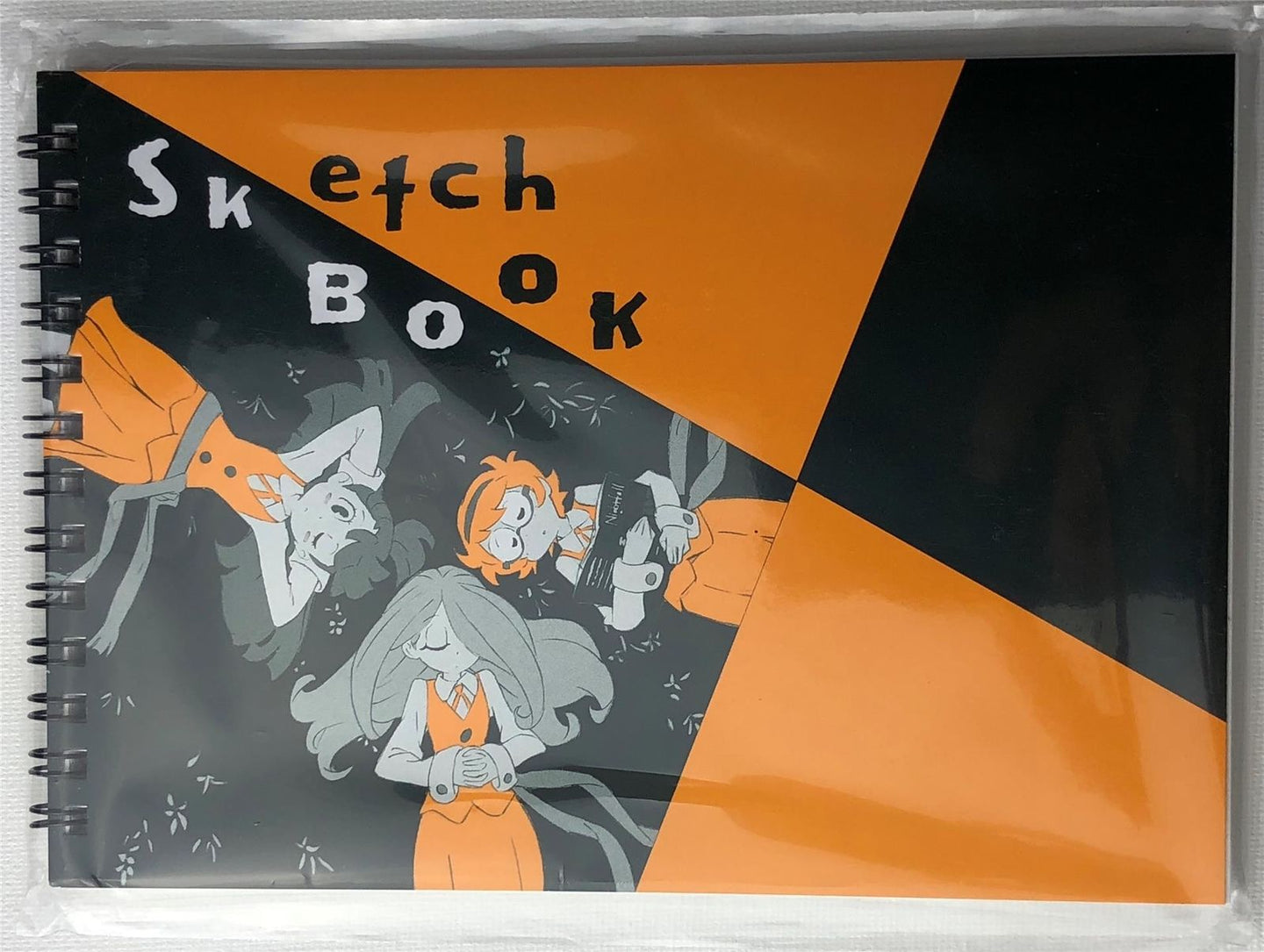 LITTLE WITCH ACADEMIA: SKETCH BOOK from Studio Trigger x Maruman, BRAND NEW!
