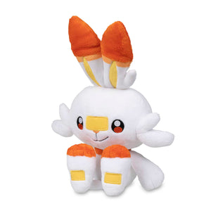 "Scorbunny Official Pokemon Center Plush - 11 1/4"" with Tags!"